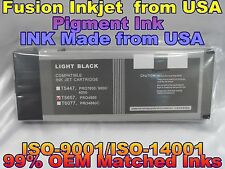 Epson Stylus Pro 4800 Light Black T565700 lk pigment ink cartridges not oem vvc