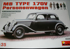 MiniArt 35095 - MB Type 170V Personenwagen      1:35 Plastic Kit/Wargaming model