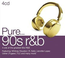 PURE...90S R&B 4 CD NEU - R. KELLY, TINA MOORE, CHRISTINA AGUILERA, USHER