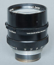 Carl Zeiss Planar 85mm/2   f2.0 lens Arriflex, good condition, no Arriflex mount