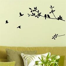 DIY Removable Bird Tree Branch Decor Room Warm Home Decals Wall Sticker Art