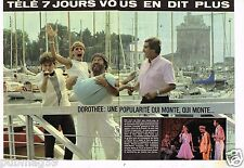Coupure de presse Clipping 1983 (2 pages) Dorothée