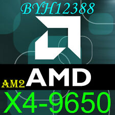 AMD Phenom X4 9650 Socket AM2 AM2+ HD9650WCJ4BGH 2.3GHz working!