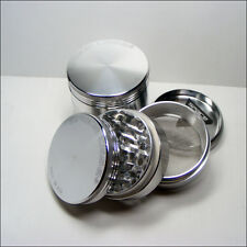 Space Case Silver Medium 4 part Aluminium Grinder - 62mm - High Quality -Genuine