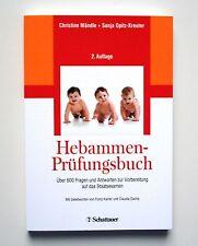 Hebammen-Prüfungsbuch von Sonja Opitz-Kreuter und Christine Mändle (2016, Tasche
