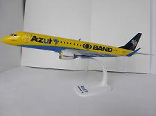 AZUL Canarinho Band Embraer 195 ERJ-195 1/100 Herpa Snap Fit 610186 E195 Linhas