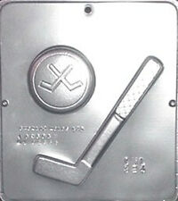 Hockey Stick & Puck Chocolate Candy Mold  324 NEW