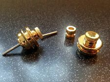 Pair of gold plated strap locks - Warman War-Locks