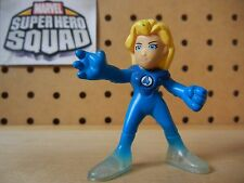 Marvel Super Hero Squad RARE INVISIBLE WOMAN Sue Storm Fantastic Four Play Wear
