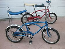 "SCHWINN MIDGET STING RAY 16"" PIXIE BLUE OG CHICAGO USA RUN A BOUT"