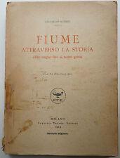 Italien, Landeskunde, Fiume, Fiume Storia, Fiume attraverso la storia, Italia