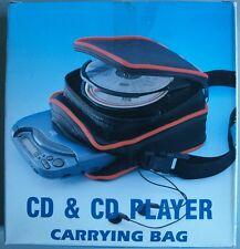 Bolsa con cremallera para guardar el reproductor de CD y 8 CD´s - incluye correa