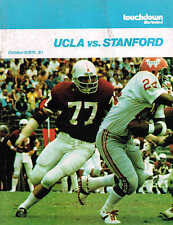 1976  UCLA  vs STANFORD Football Program NCAA
