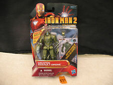 "Iron Man 2 Movie Series WEAPON ASSAULT DRONE 3.75"" Action Figure 16 New 2010"