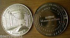 Medal Tourism Honfleur City Church France 2010 Monnaie de Paris Free Ship Word