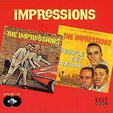 The Impressions - Keep On Pushing/People Get Ready (CDKEND 130)