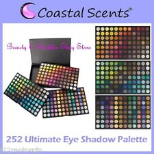 NEW Coastal Scents 252-Color ULTIMATE Eye Shadow Palette-FREE PRIORITY SHIPPING