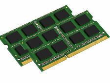 NEW! 4GB 2X2GB DDR3 1333 PC3-10600 CL9 1.35V Laptop RAM Sodimm Notebook Memory