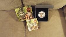 2011 Australia 50 Cents Bush Babies DINGO 1/2 OZ. Silver Proof Coin