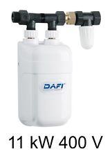 Chauffe eau instantané DAFI 11 kW 400V avec connecteur (triphasé) !=!