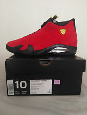 Air Jordan 14 Retro Ferrari Size 10 DS Authentic Last Shot Laney Thunder