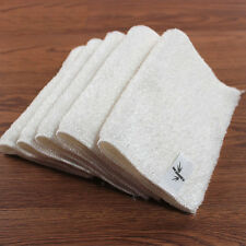 Home Kitchen Soft Double Thickness Bamboo Fiber Dish Wash Cloth Towel Rags