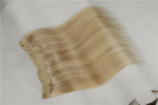 Mixed Blonde Flip In Secret Miracle Wire 100% Human Hair Extensions With Clip