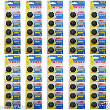 50PCS x CR2016 DL2016 5000LC Lithium Blister Pack 3V 3.0 Volt Coin Cell Battery