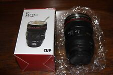 Canon 24-105 mm Lens Type Double Wall Insulation Stainless Steel Travel Mug