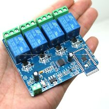 5V 4Ch Bluetooth Relay Android Mobile Remote control Switch Motor LED Light APP