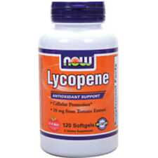 Lycopene 120 Sgels 10 mg by Now Foods