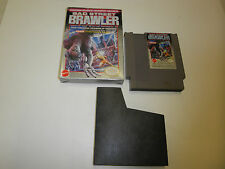 BAD STREET BRAWLER slight shelf wear GAME with BOX NINTENDO SYSTEM NES HQ BOX #B