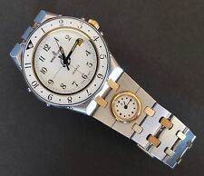 Breitling Eric Tabarly 80770 Gold And Stainless Steel Dual Time Quartz Watch