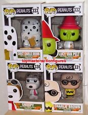 FUNKO POP PEANUTS HALLOWEEN Walgreen's ALL 4 WITCH,GHOST,SNOOPY,CHARLIE In Stock