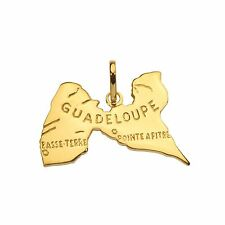 Pendentif plaqué or Guadeloupe