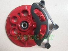 CNC DUCATI Dry OPEN CLUTCH COVER + PRESSURE PLATE 916/1098/998/999/748/749