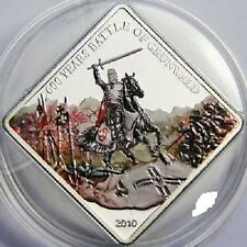2010 Palau Large Proof color $1 Battle of Grunwald- Polish Knight