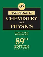 CRC Handbook of Chemistry and Physics : A Ready-Reference Book of Chemical...