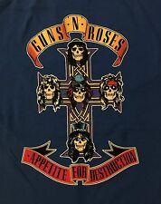 GUNS N' ROSES cd cvr Appetite for Destruction ROYAL CROSS Official SHIRT 2XL new