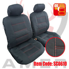 New Pair Canvas Seat cover For Holden Cruze Sedan Hatch 2009-on Free Shipping AU