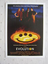 Filmplakatkarte  cinema Evolution   David Duchovny, Julianne Moore