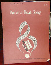 Banana Boat Song, Instrumental Sheet Music for the Organ