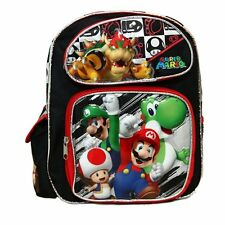 "Super Mario and Friends Small 12"" Backpack BRAND NEW - Licensed Product"