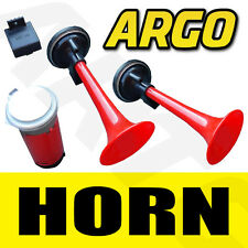 CAR VAN AIR HORN TWIN DUAL TONE 12V + RELAY FOR ROVER