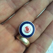Fred Perry 'Laurel Wreath' Mod Target  Tie Pin/Pin Badge.