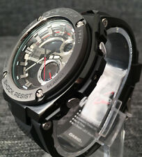 CASIO G SHOCK GST-210B-1A G STEEL BLACK XLARGE ANALOG&DIGITAL 200M WR BRAND NEW