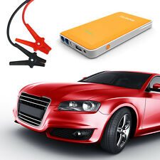 NINETEC 12V Auto Starthilfe + Power Bank Akku 2in1 Orange für Iphone Tablet PC