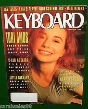 1992 KEYBOARD Magazine TORI AMOS Plays NIRVANA Peavey DPM C8 Akai MX1000 Reviews