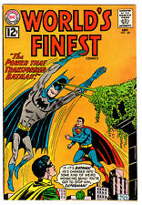 WORLD'S FINEST #128 7.5 OFF-WHITE TO WHITE PAGES SILVER AGE BATMAN SUPERMAN