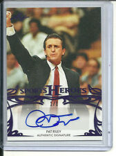 PAT RILEY PURPLE #1/1 AUTOGRAPH 2013 LEAF SPORTS HEROES AUTO TRUE 1 OF 1
